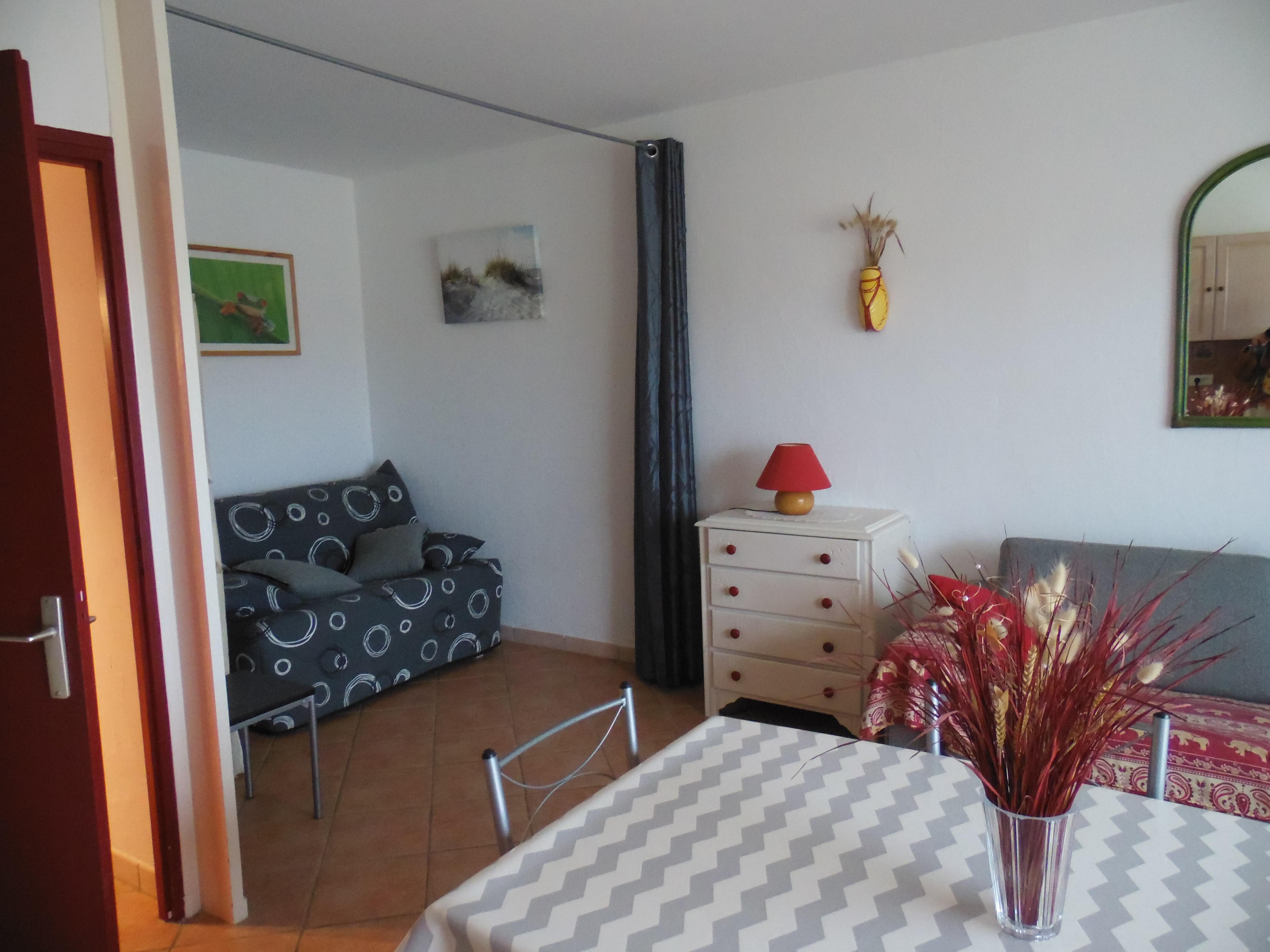 Location de vacances Studio alcôve à Mimizan Plage -