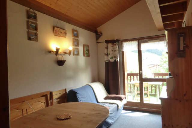 Location 2 pièces-cabine +mezzanine à Areches - Vacances à la montagne
