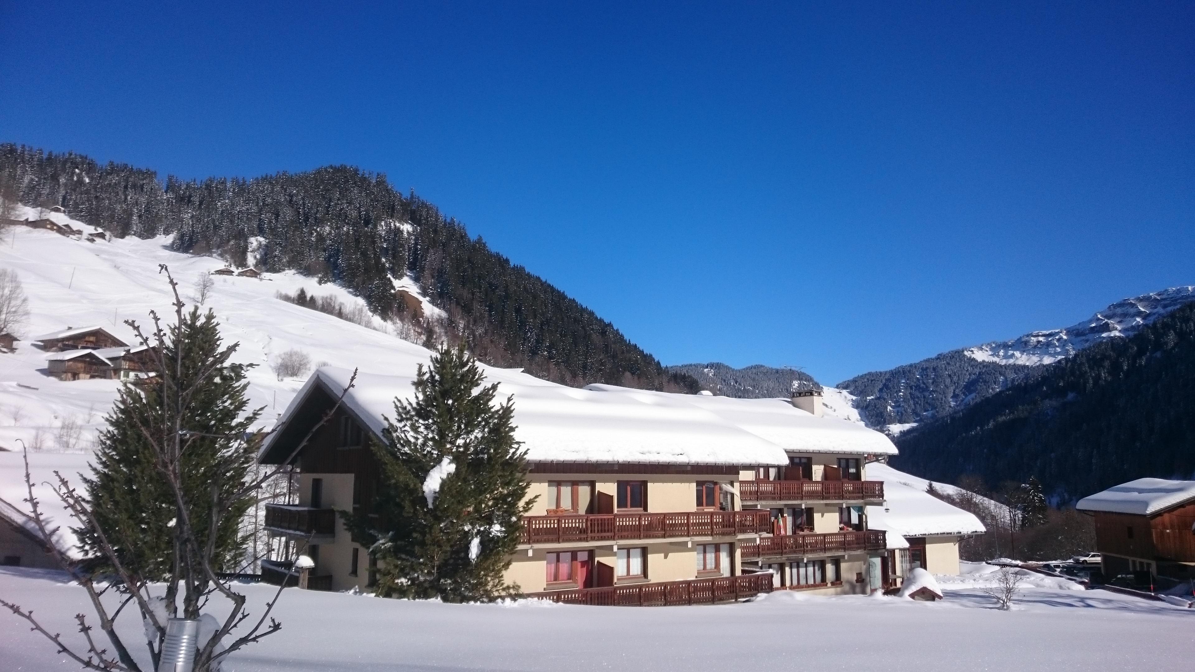 Location 2 pièces cabine à Areches - Vacances à la montagne