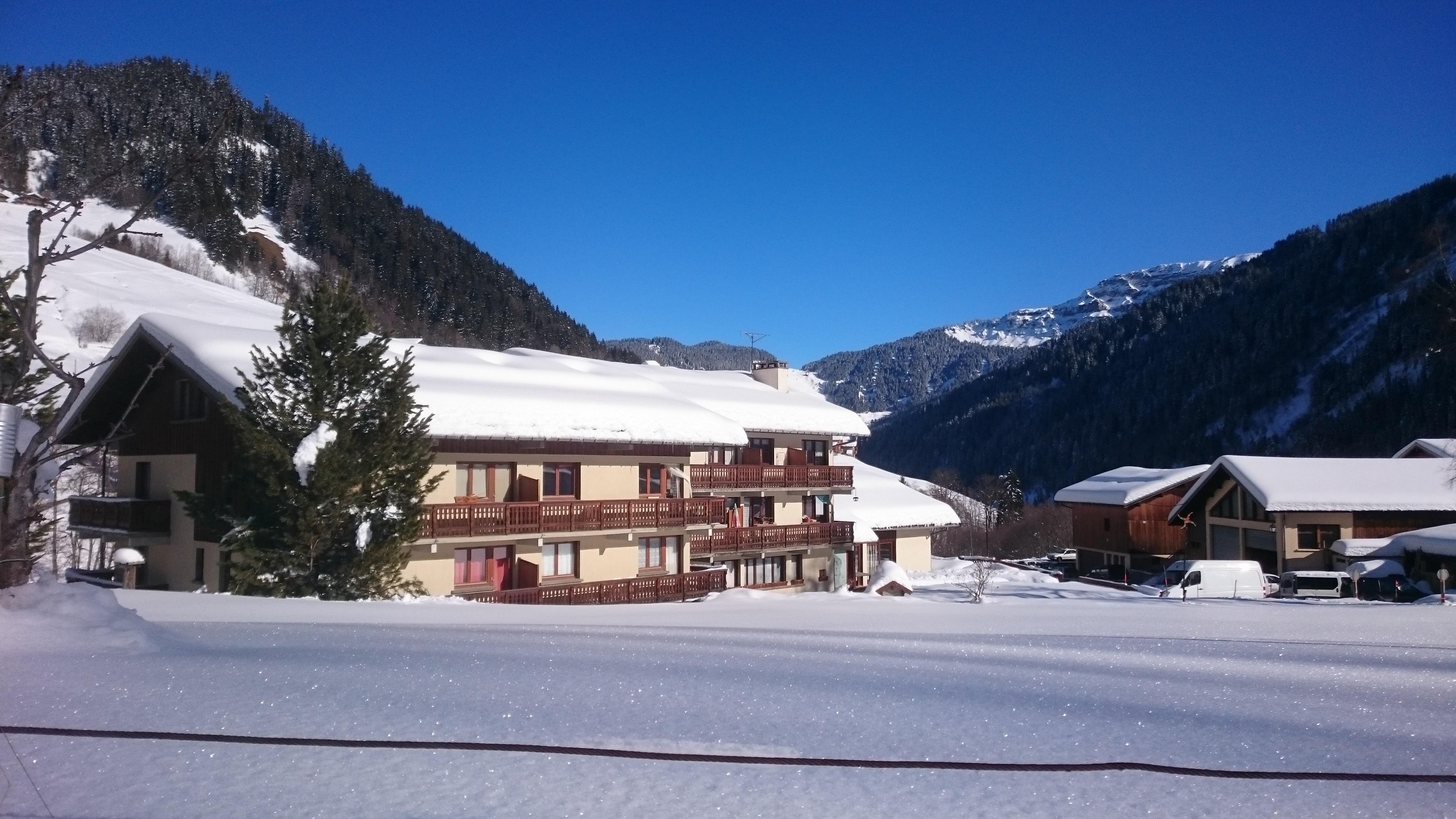 Location 2 pièces + mezzanine à Areches - Vacances à la montagne