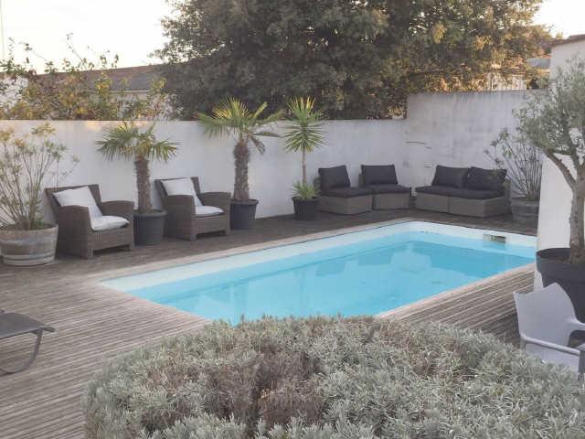 Villa avec piscine le bois plage en re  7 pers.