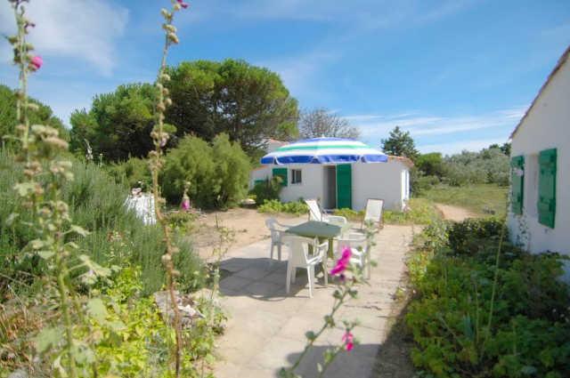Maison dans les dunes ensemble de 2 maisons  sur une parcelle de 4000m² no ...