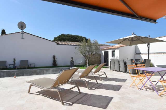 Villa 4 pièces le bois plage en re  8 pers.