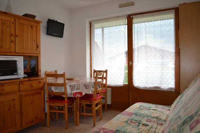 Location vacances Studio cabine avec terrasse pour 4 personnes à Praz Sur Arly