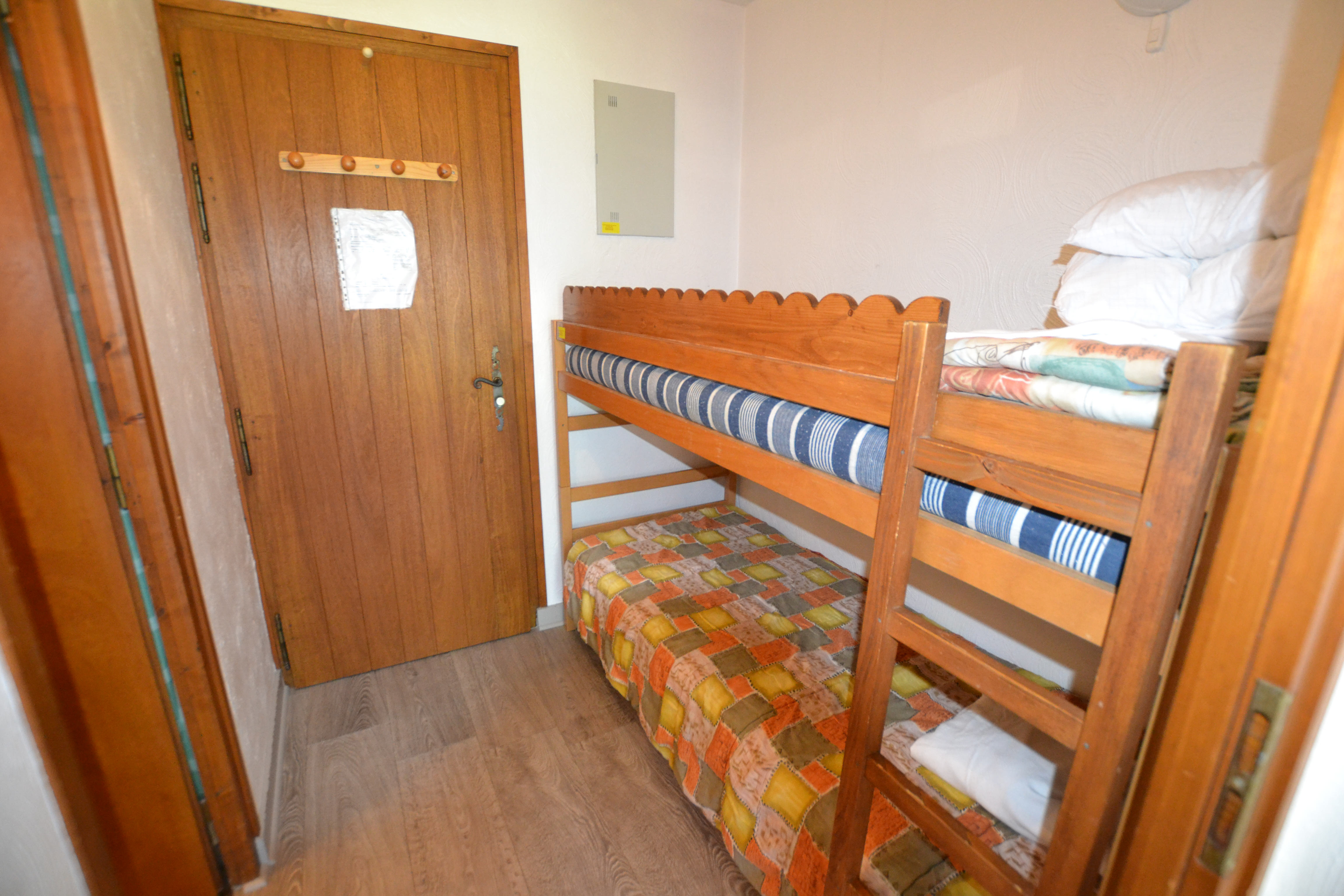Studio cabine avec balcon pour 4 personnes en location de vacances à Praz Sur Arly