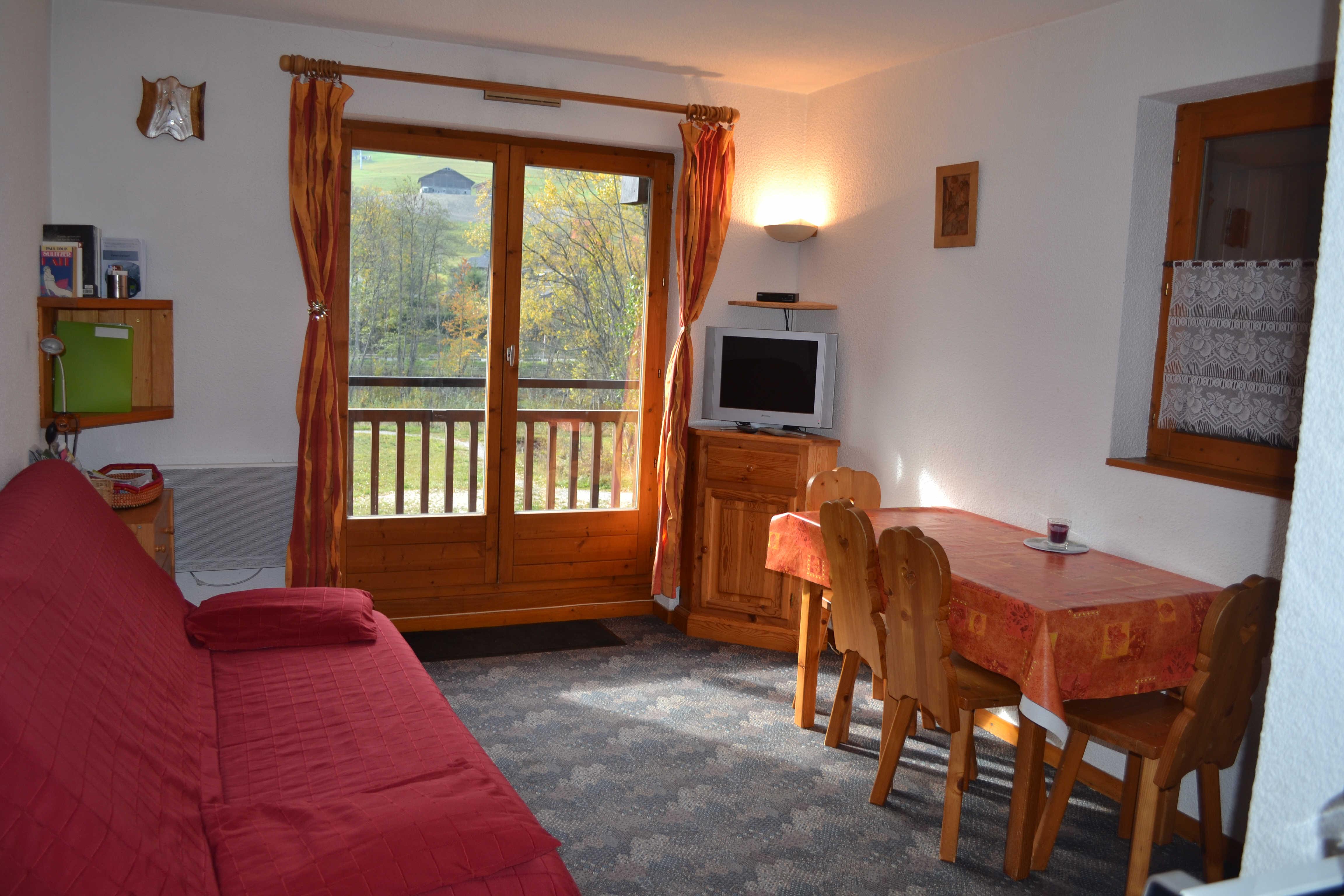 Location vacances Studio cabine pour 4 personnes à Praz Sur Arly