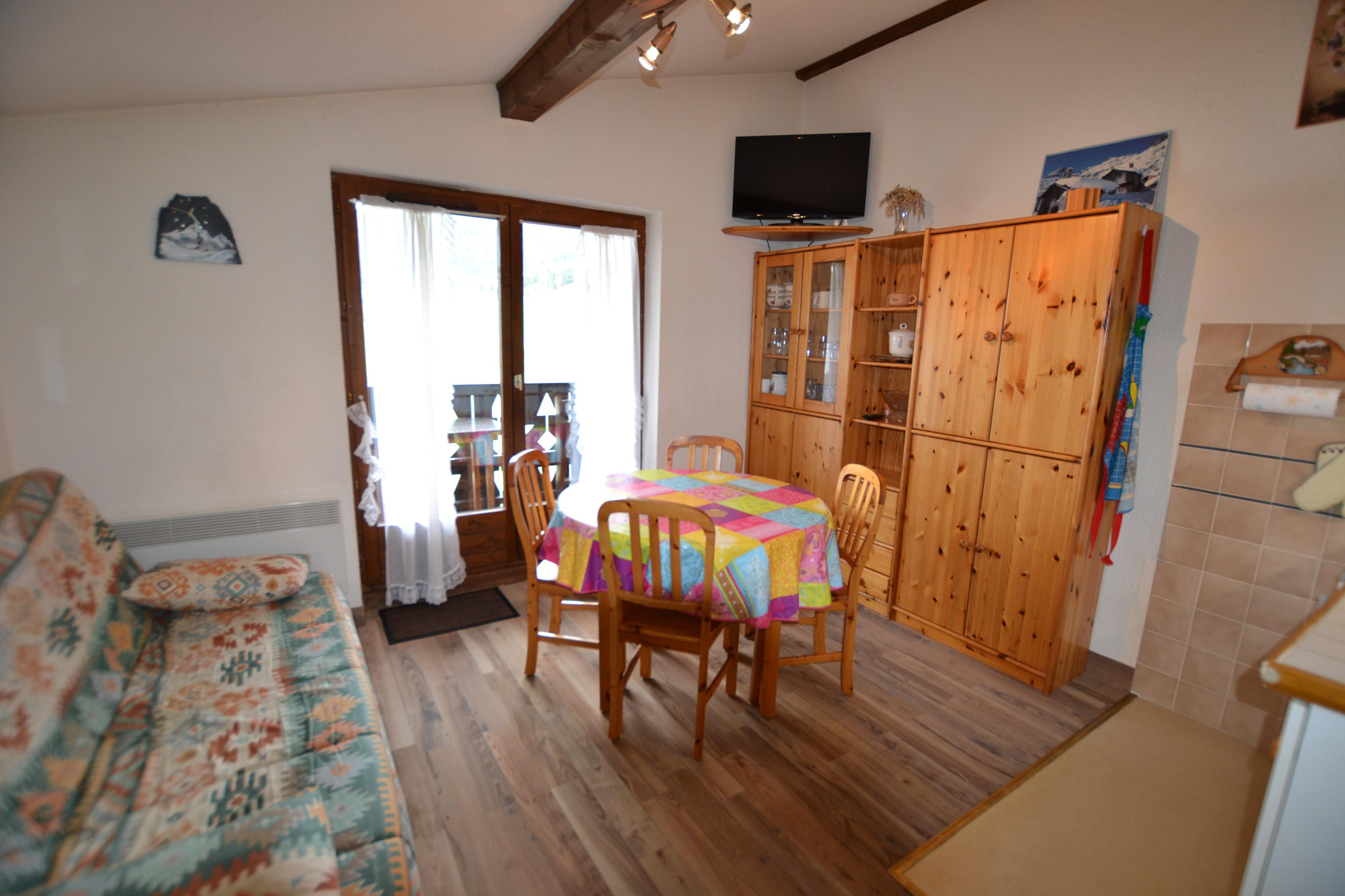 Location vacances 2 pièces cabine pour 4 personnes à Praz Sur Arly