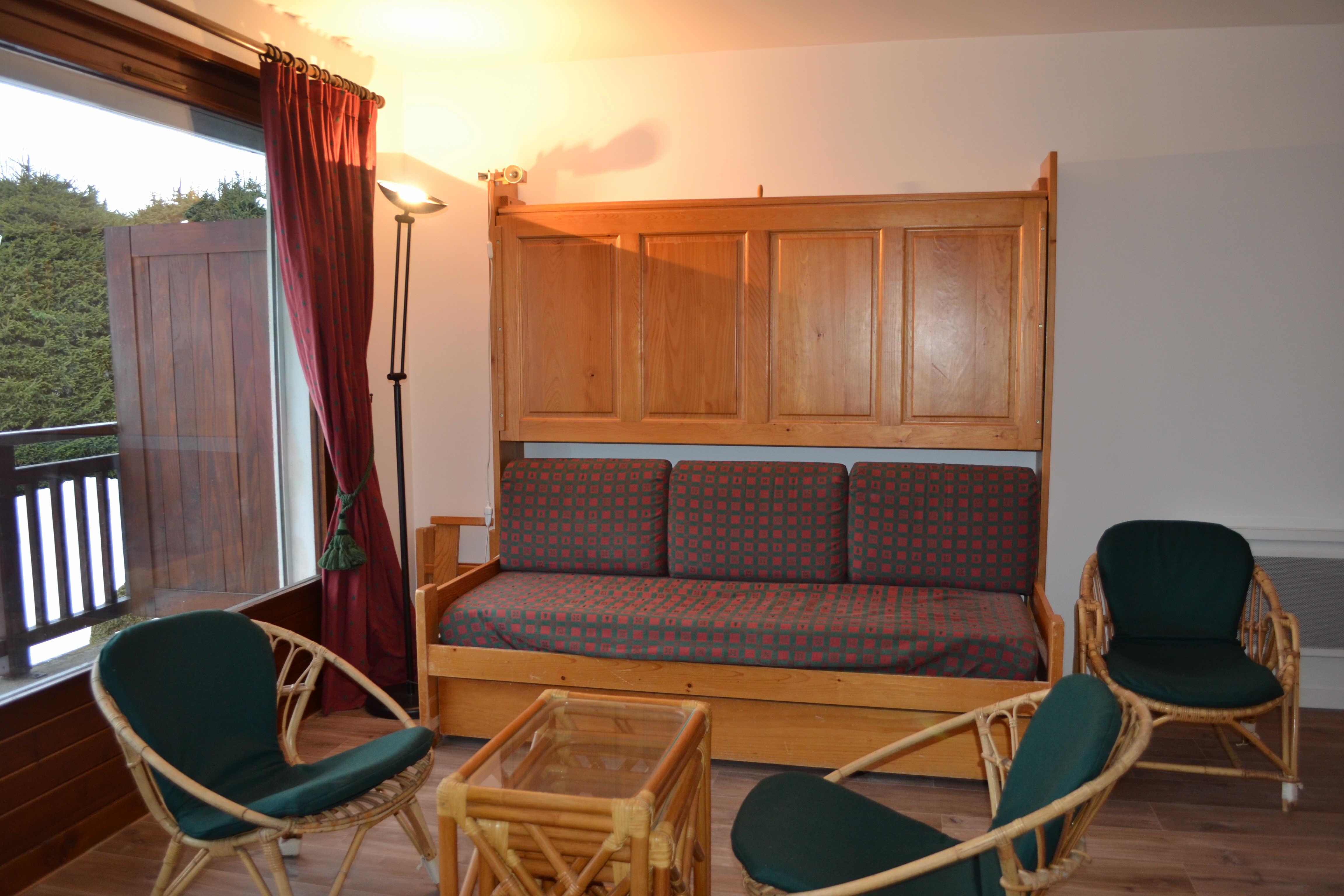 Location vacances 2 pièces pour 4 personnes à Praz Sur Arly