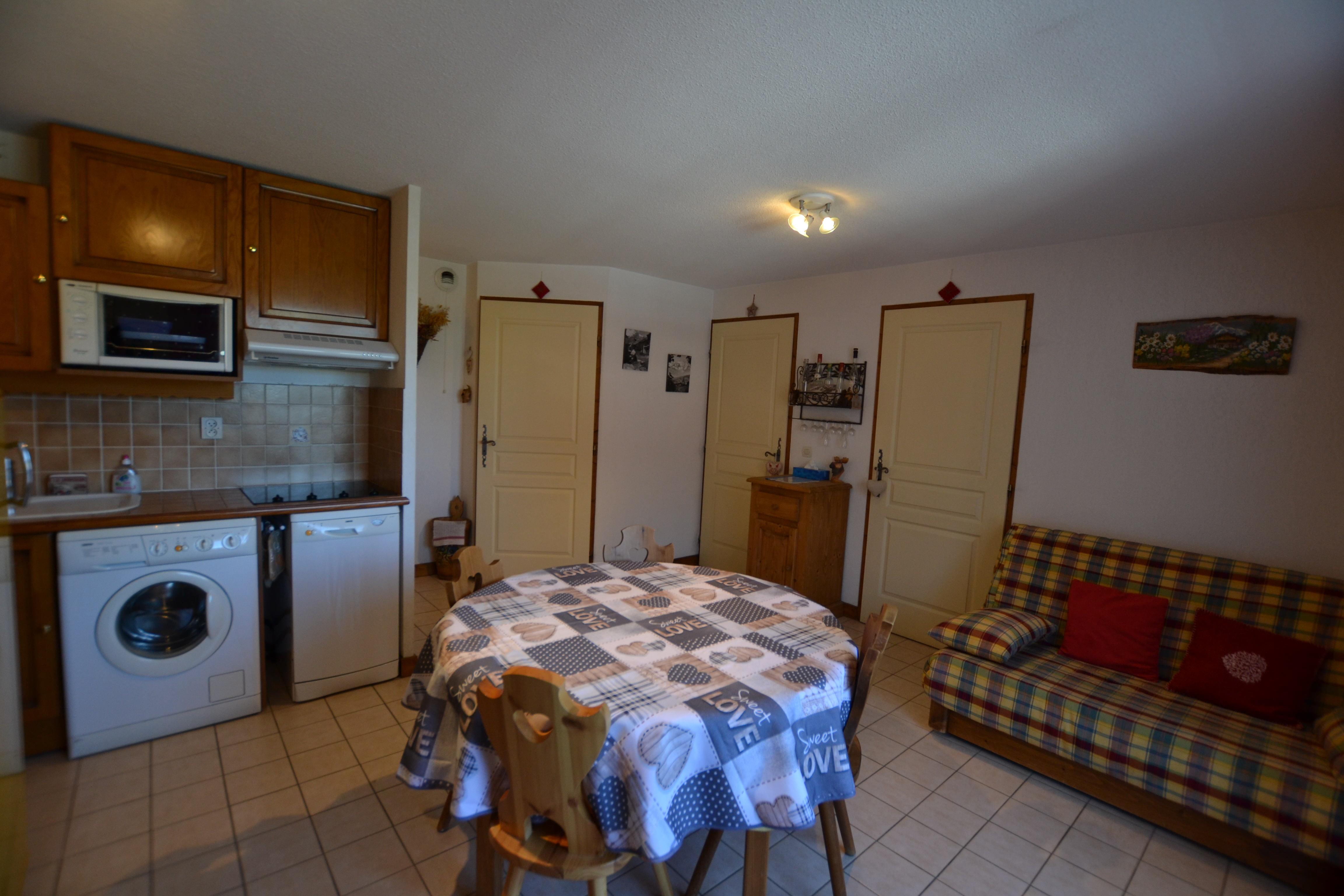 3 pièces pour 5 personnes en location de vacances à Praz Sur Arly