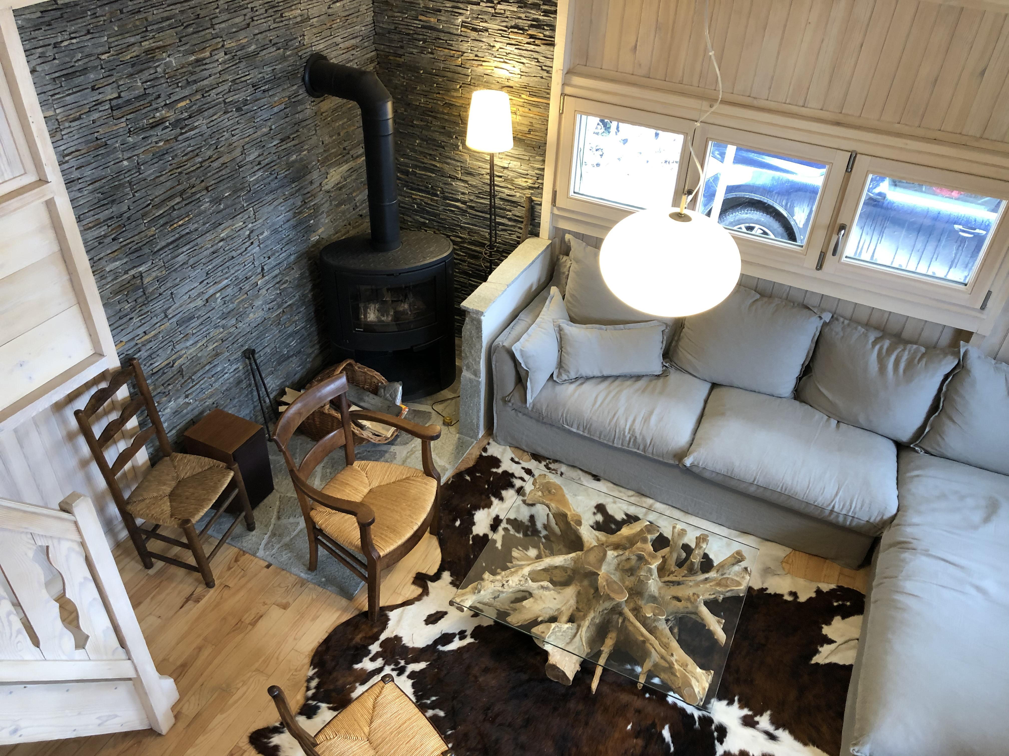CHALET 4 PIECES + MEZZANINE pour 10 personnes en location de vacances à Praz Sur Arly