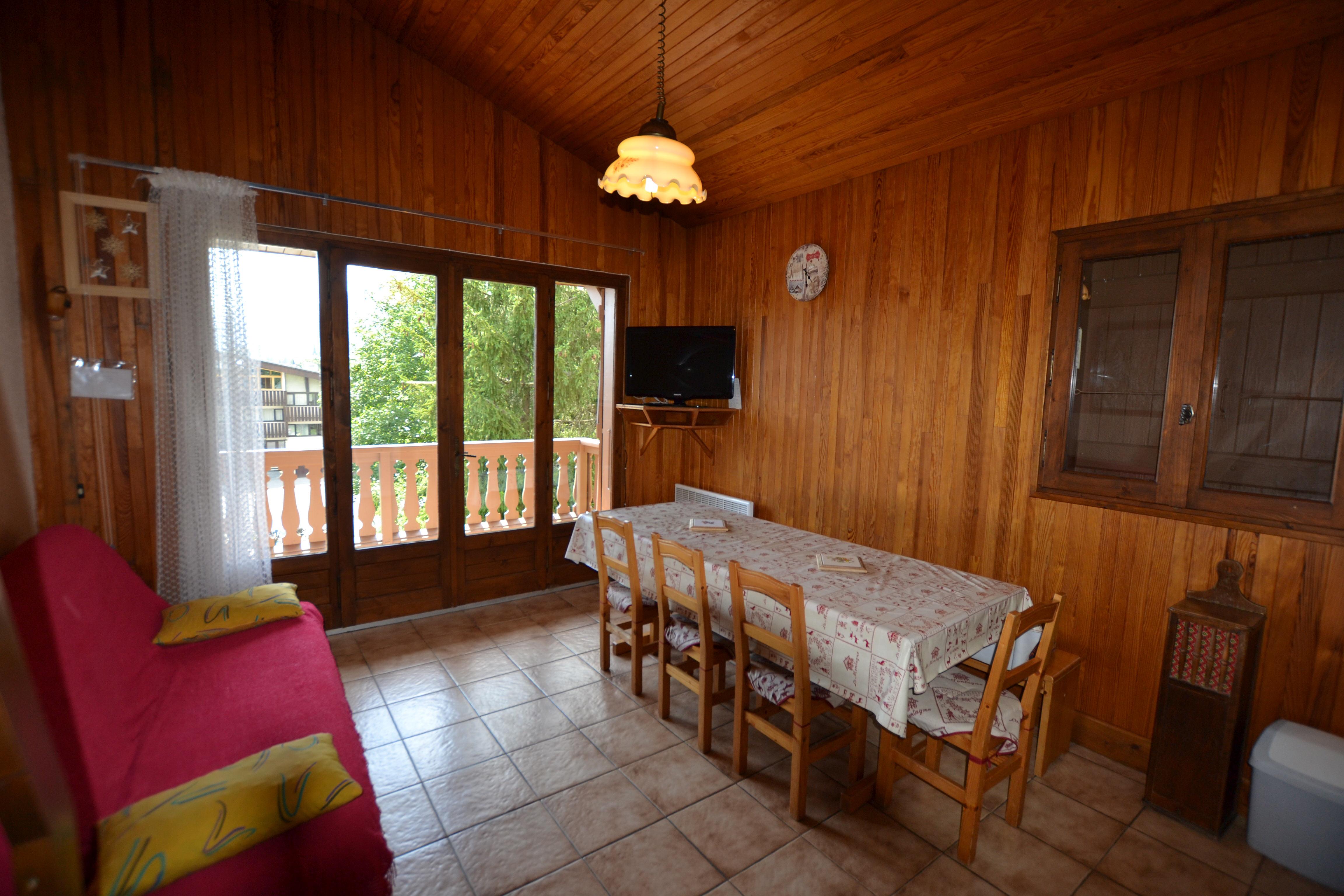 Location vacances 2 Pièces Cabine Mezzanine pour 6 personnes à Praz Sur Arly