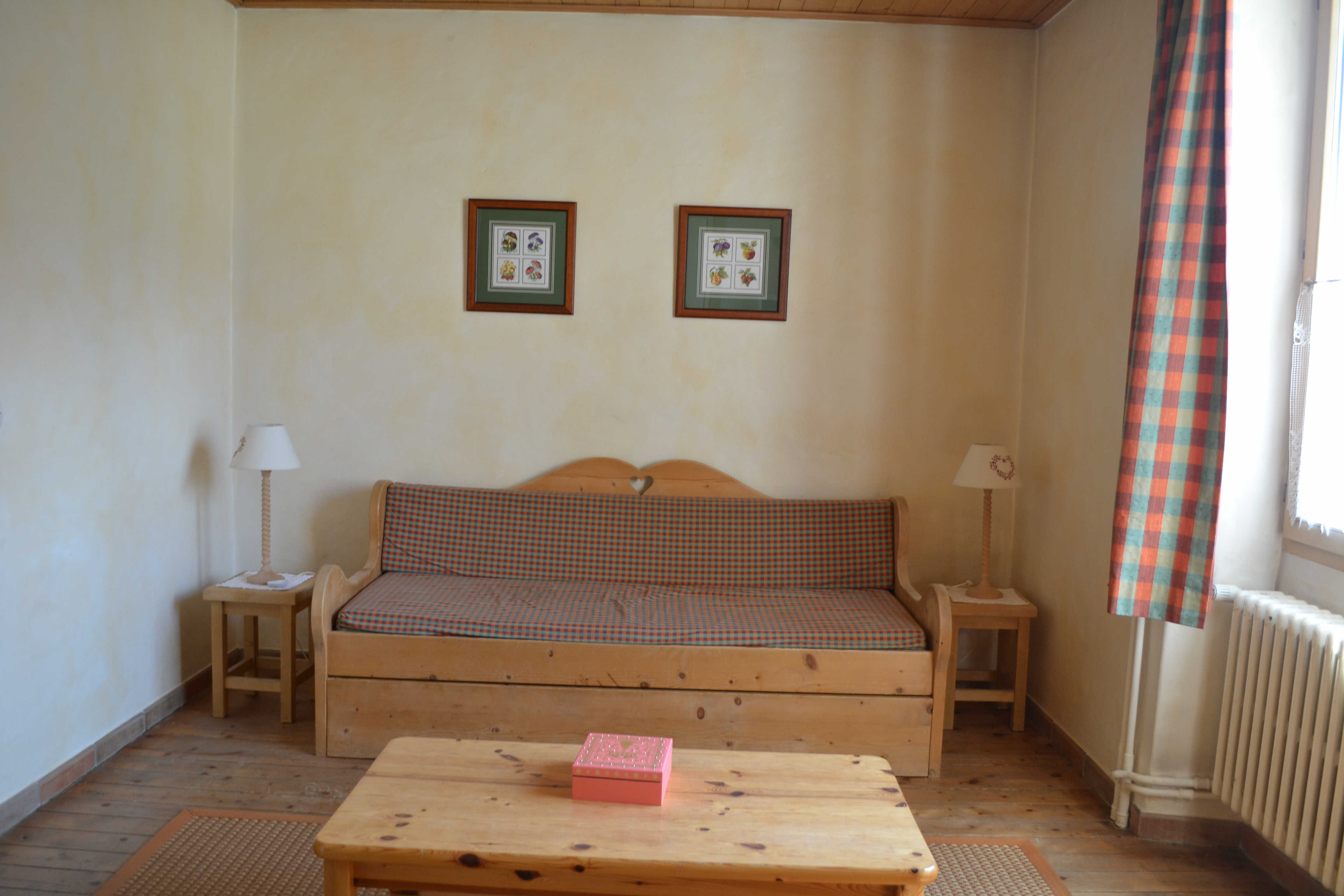 Location vacances Grand 2 pièces dans le centre pour 4 personnes à Praz Sur Arly