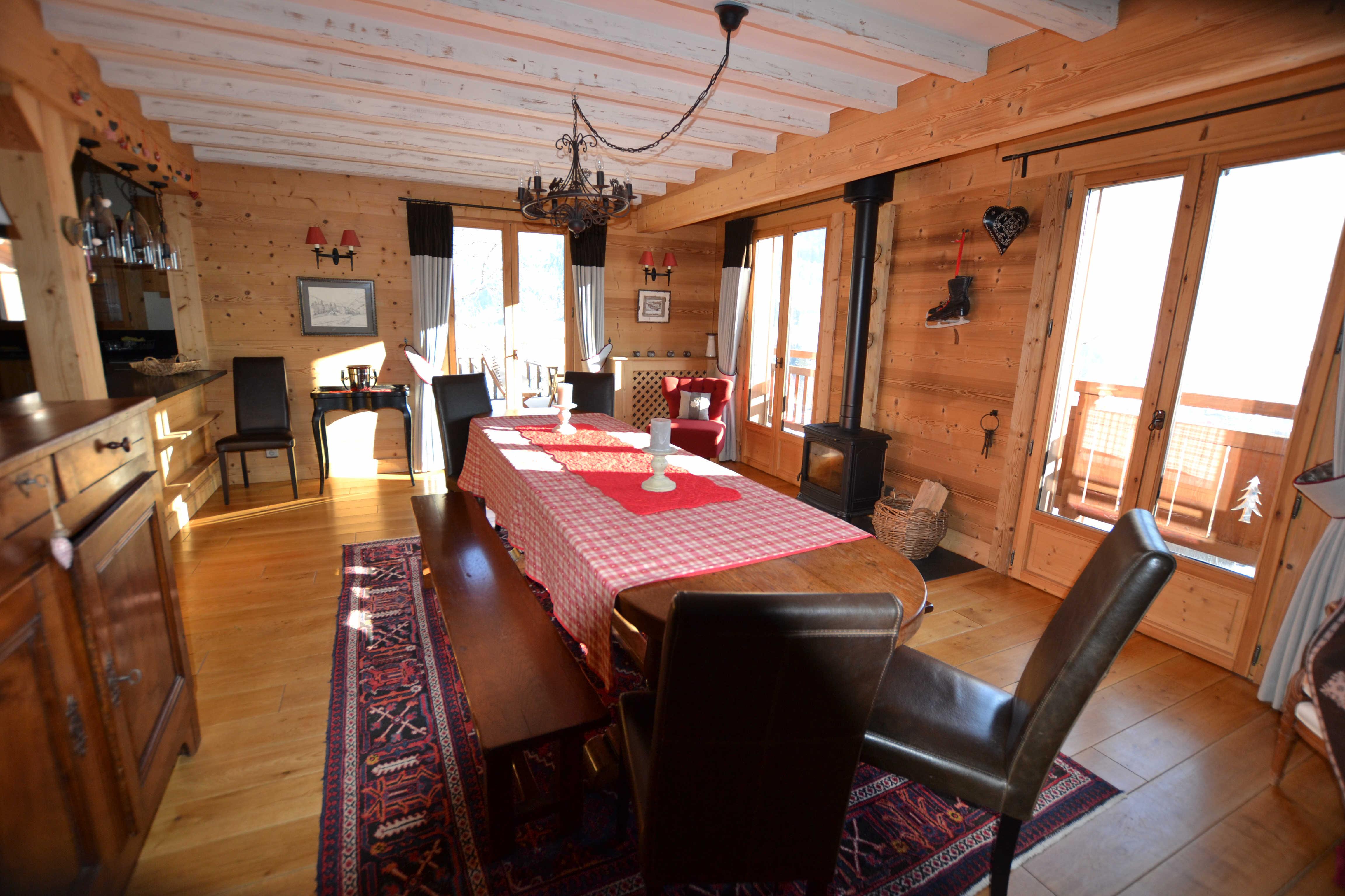 CHALET pour 16 personnes en location de vacances à Praz Sur Arly