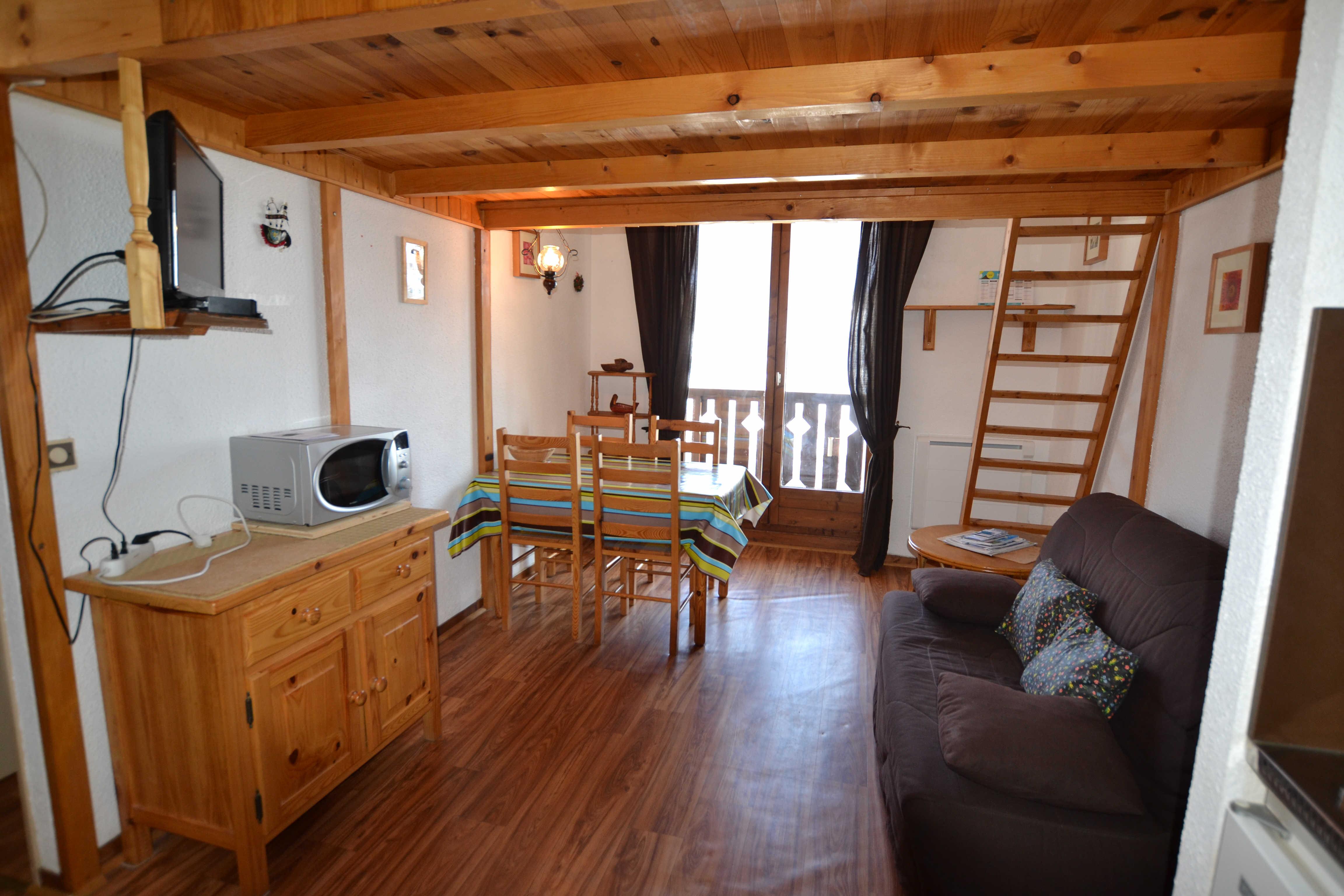 Location vacances 2 pièces + mezzanine pour 4 personnes à Praz Sur Arly