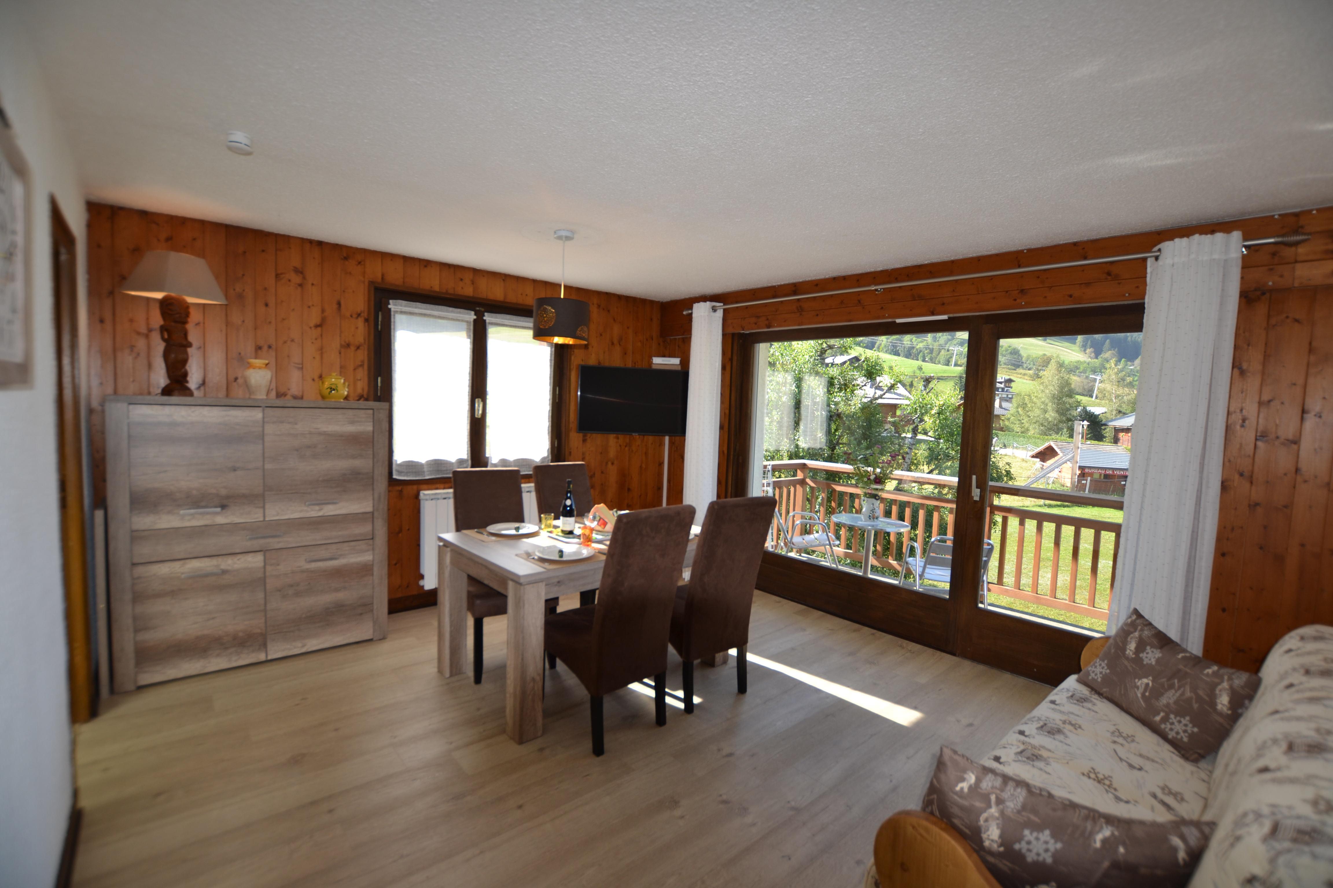 Location vacances 2 pièces confort pour 4 personnes à Praz Sur Arly