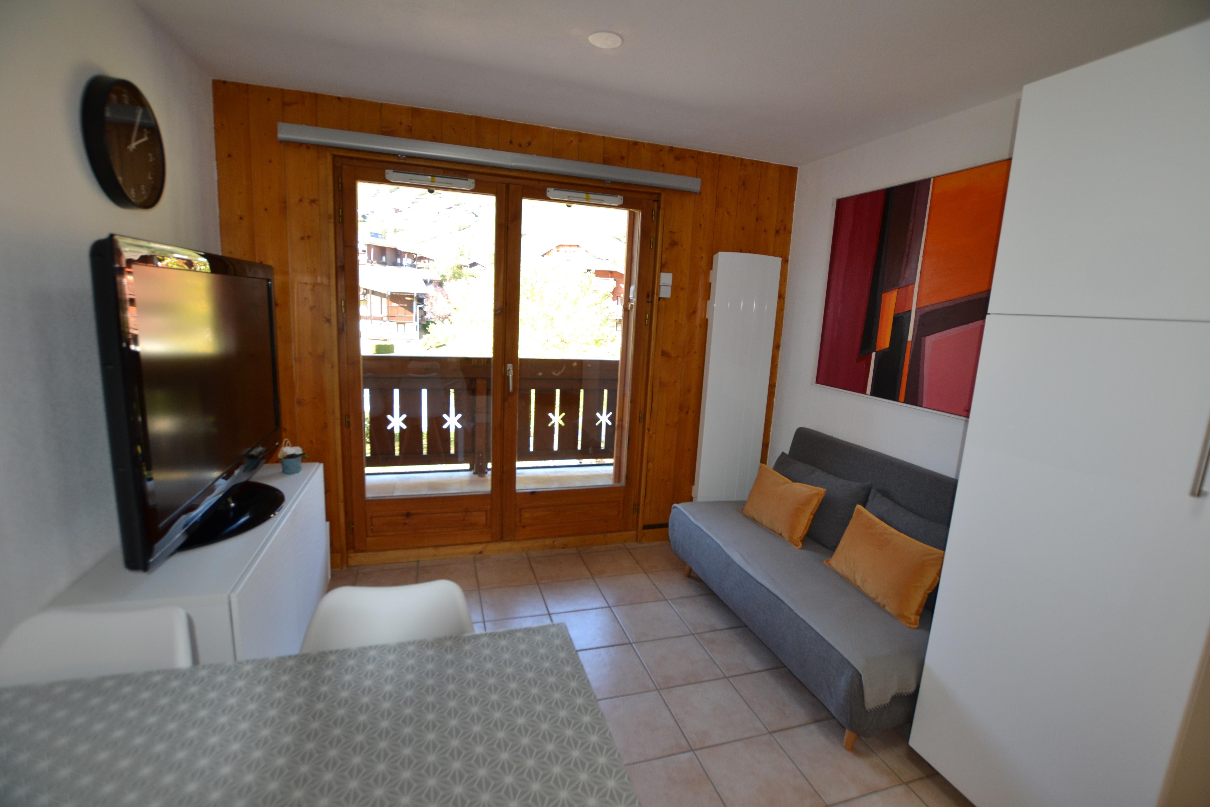 3 pièces pour 6 personnes en location de vacances à Praz Sur Arly