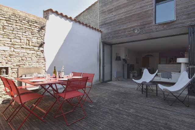 Villa 3 pièces la couarde sur mer  4 pers.