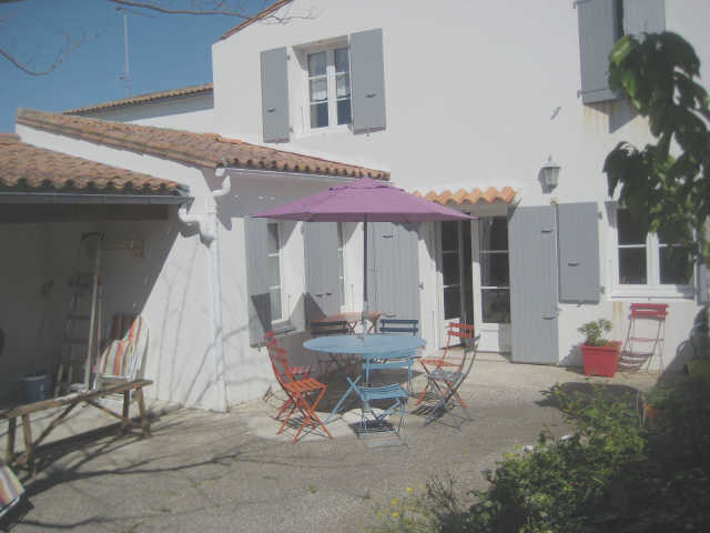 Villa 4 pièces saint martin de re  8 pers.