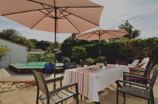 Villa 3 pièces rivedoux plage  4 pers.