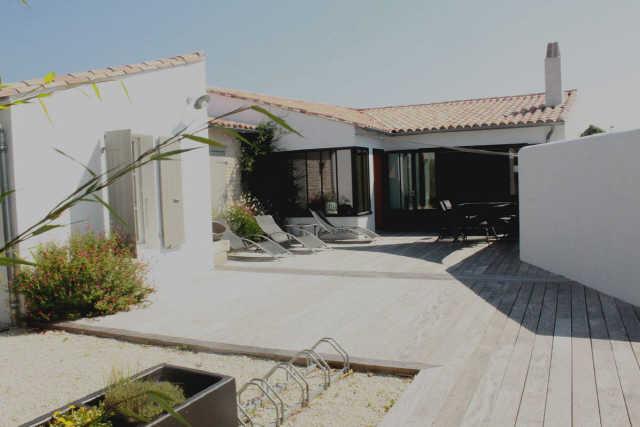 Villa 4 pièces le bois plage en re  6 pers.