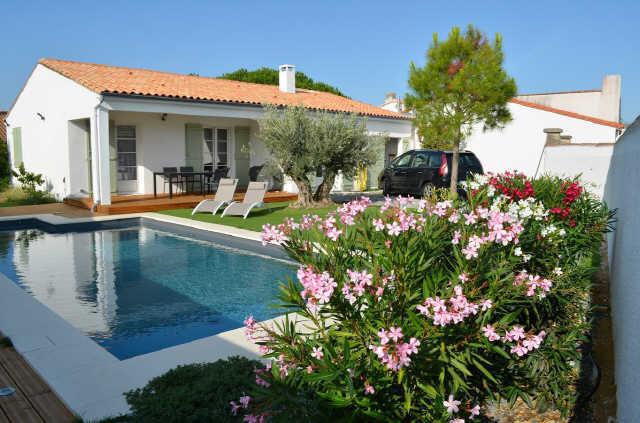 Villa avec piscine, La Flotte