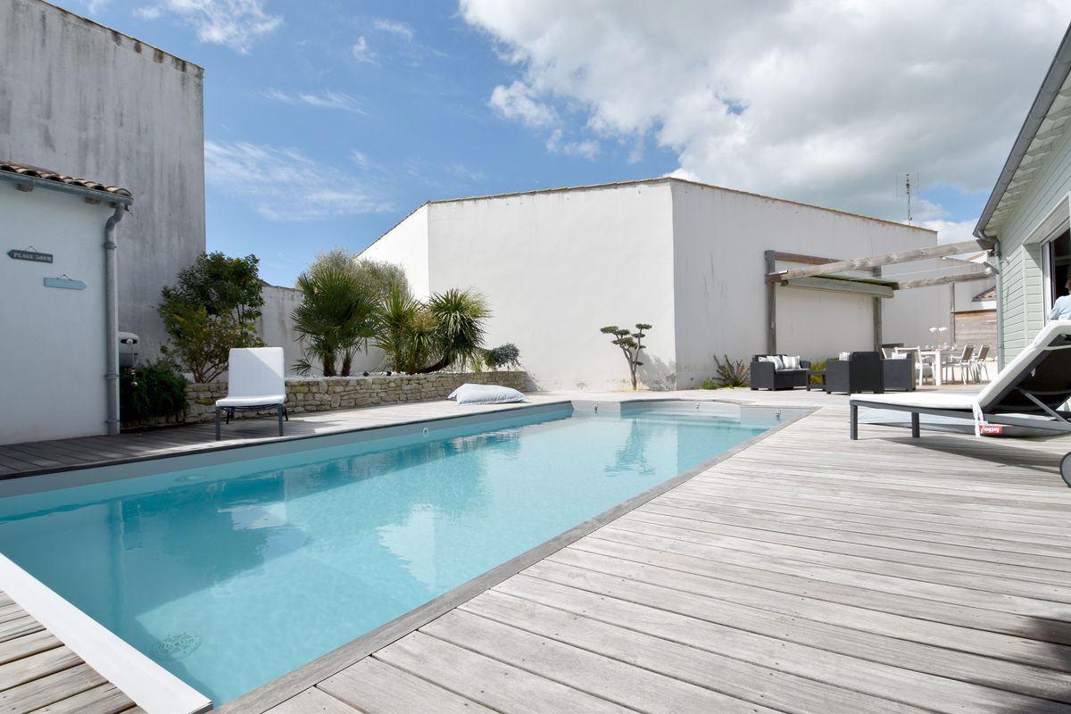 Villa avec piscine sainte marie de re  6 pers.