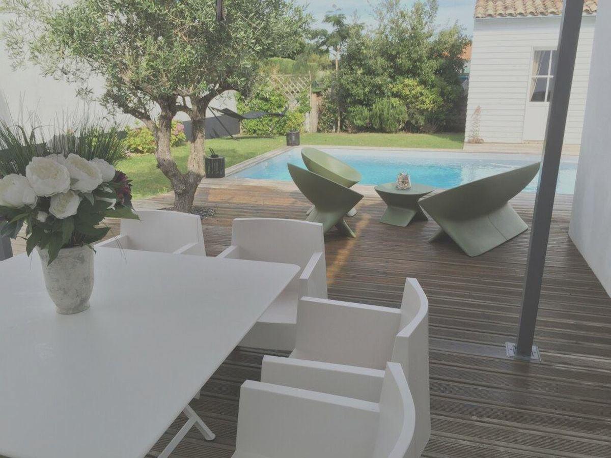 Villa avec piscine saint clement des baleines  6 pers.
